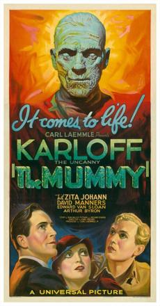 "1932's ""The Mummy."""